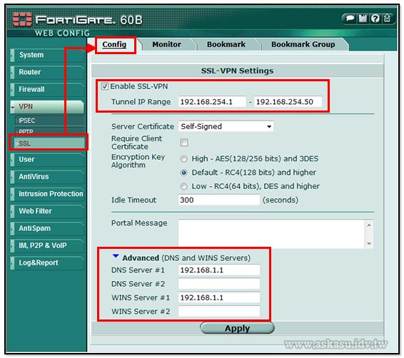 啟用SSL VPN