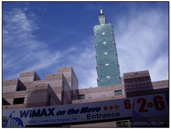 WiMAX Taipei and Taipei 101